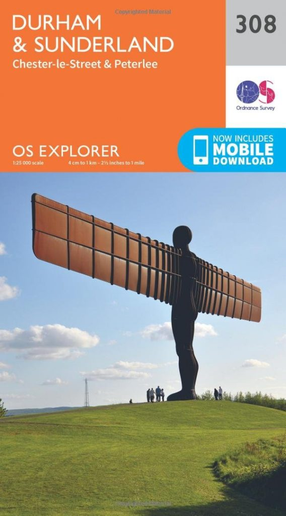 OS Maps of Northern England - Tyne & Wear