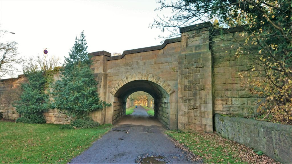 Sunderland Bridge and the Weardale Way